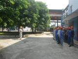6月21日红河制糖公司组织危化品倒泼应急演练