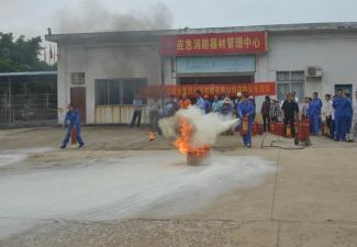 红河制糖公司开展消防培训演练