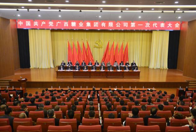 广糖集团第一届党代会成功召开 谭良良李东出席