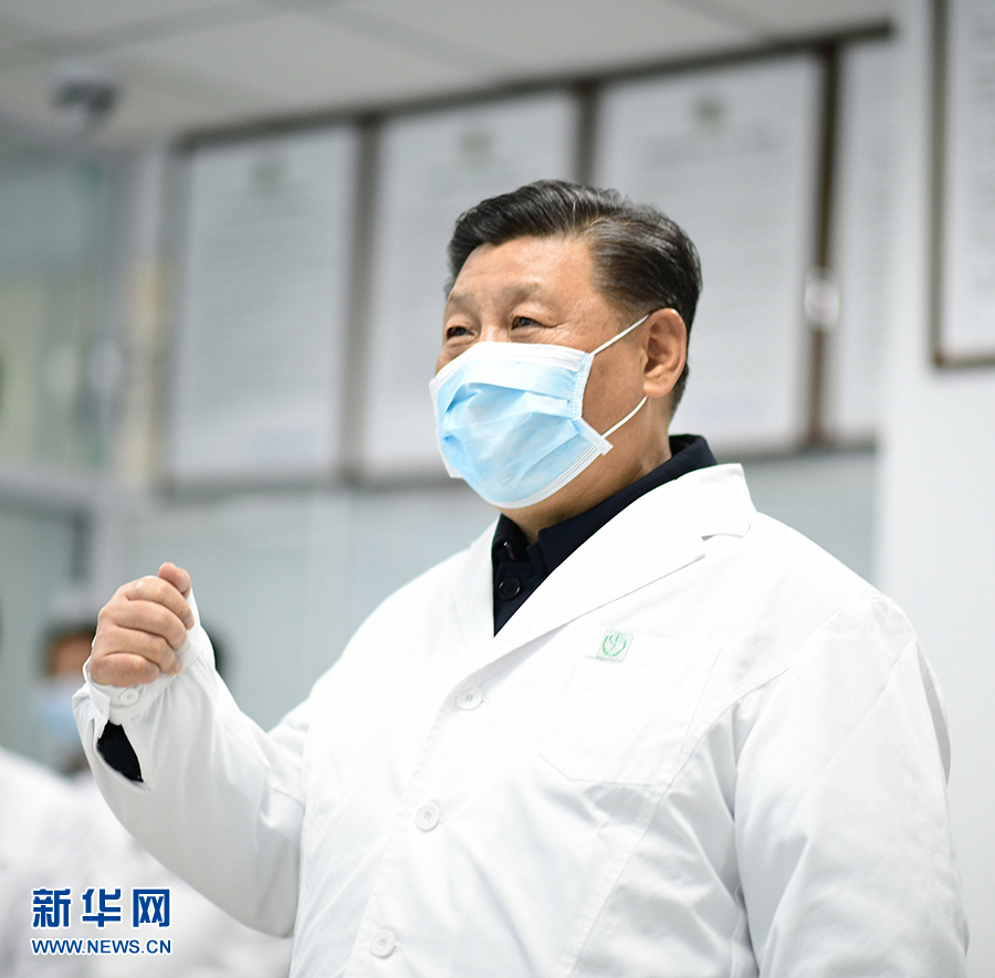 习大大:坚决打赢疫情防控的人民战争总体战阻击战