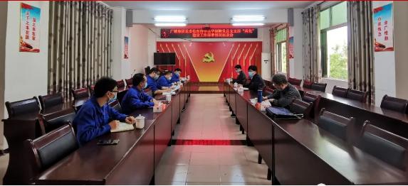 【黨建引領】廣糖集團黨群部檢查組到達華制糖指導支部兩化建設